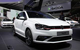 PARIS 2014 LIVE: Volkswagen Polo GTI facelift - subcompacta de performanţă primeşte 192 CP şi o manuală cu şase trepte