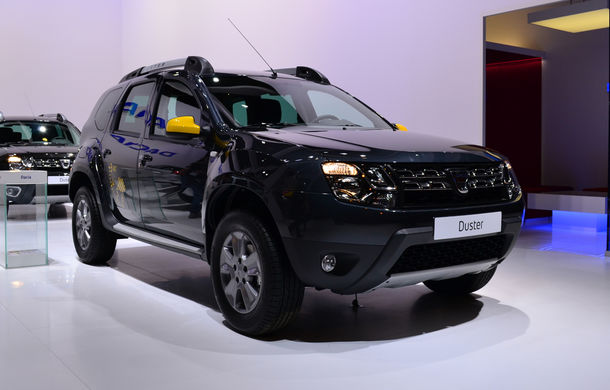 PARIS 2014 LIVE: Dacia Duster Air şi Sandero Black Touch, alte două surprize româneşti pentru Salonul de la Paris - Poza 2