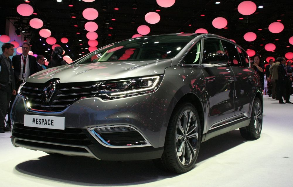 PARIS 2014 LIVE: Renault Espace își schimbă complet profilul și devine un crossover de familie - Poza 1