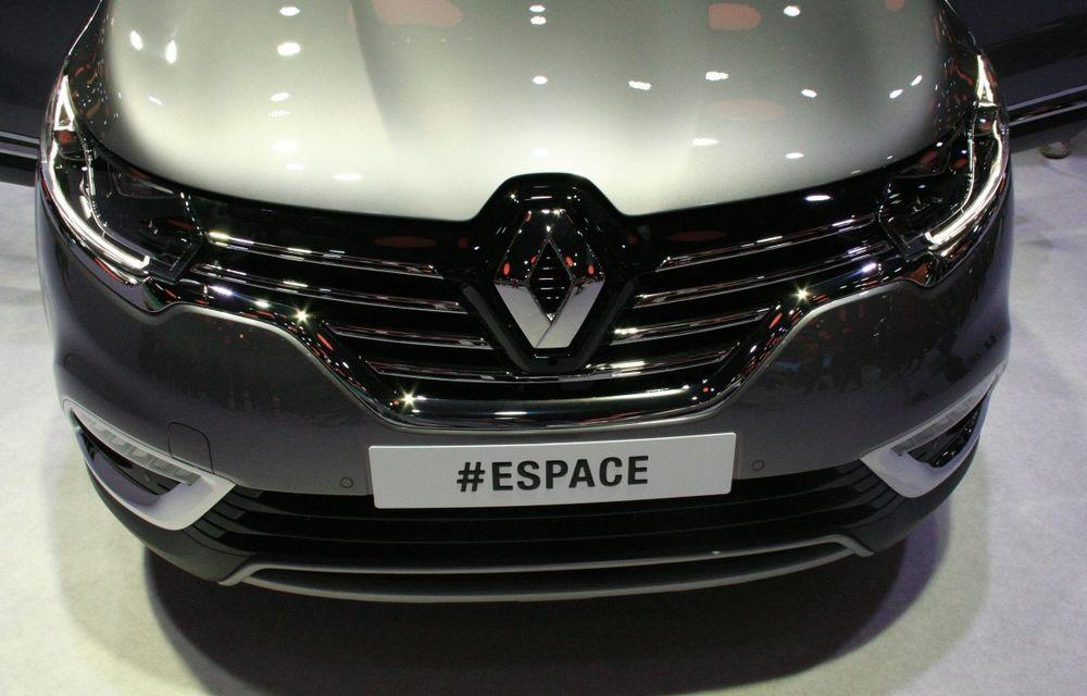 PARIS 2014 LIVE: Renault Espace își schimbă complet profilul și devine un crossover de familie - Poza 8