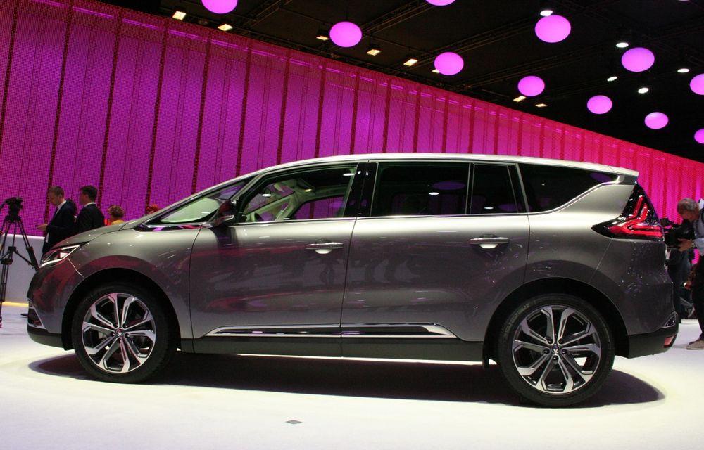 PARIS 2014 LIVE: Renault Espace își schimbă complet profilul și devine un crossover de familie - Poza 3