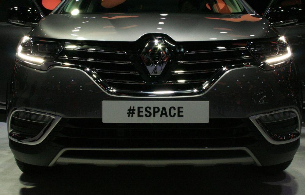 PARIS 2014 LIVE: Renault Espace își schimbă complet profilul și devine un crossover de familie - Poza 11
