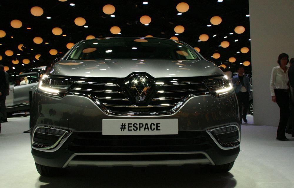 PARIS 2014 LIVE: Renault Espace își schimbă complet profilul și devine un crossover de familie - Poza 2