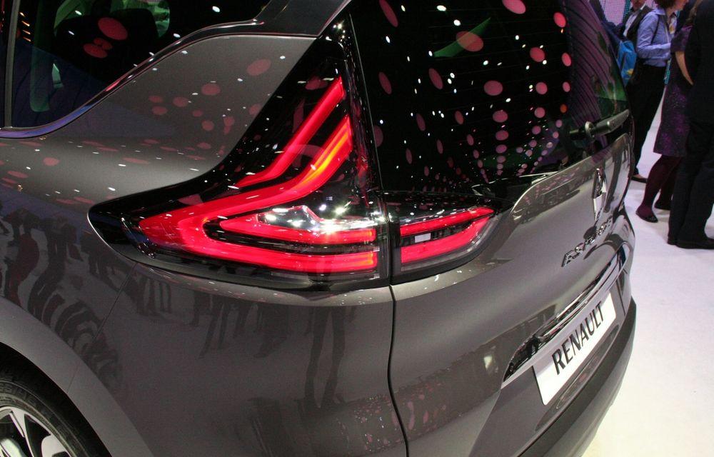 PARIS 2014 LIVE: Renault Espace își schimbă complet profilul și devine un crossover de familie - Poza 4
