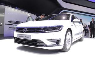 PARIS 2014 LIVE: Volkswagen Passat GTE - varianta hybrid plug-in a noului model din Wolfsburg