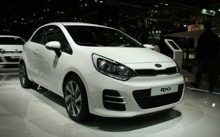 PARIS 2014 LIVE: Kia Rio facelift debutează cu numeroase schimbări estetice