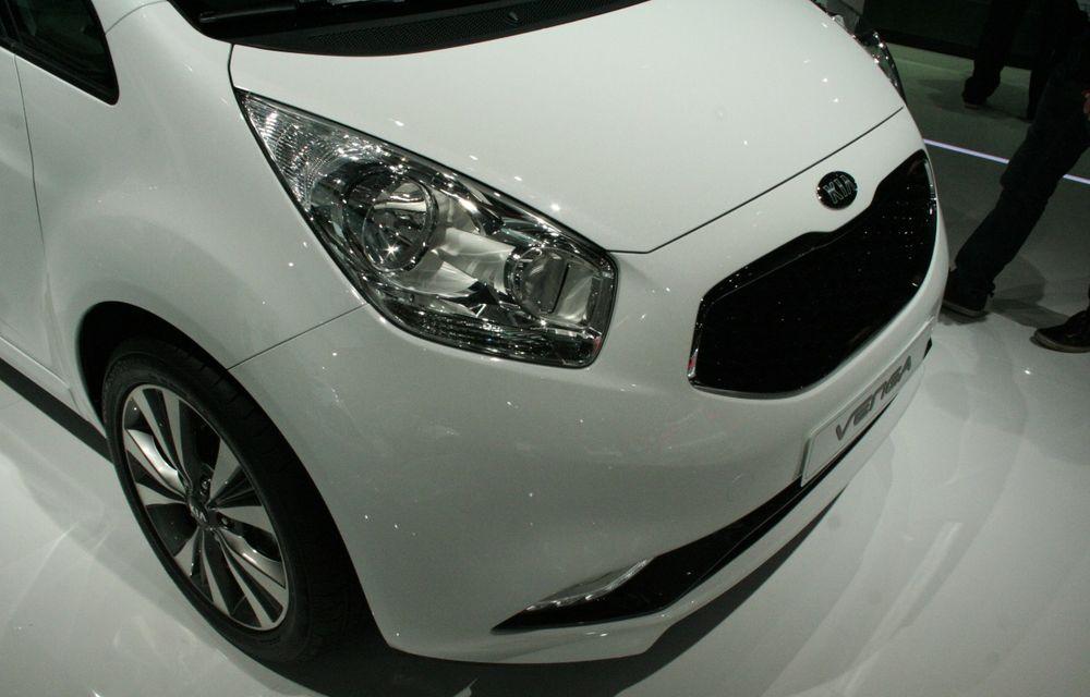 PARIS 2014 LIVE: Kia Venga facelift - monovolumul mic al coreenilor primeşte o actualizare subtilă - Poza 5