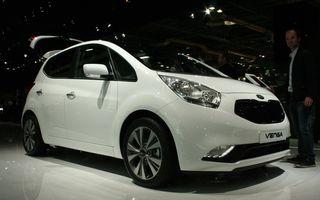 PARIS 2014 LIVE: Kia Venga facelift - monovolumul mic al coreenilor primeşte o actualizare subtilă