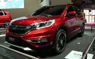 PARIS 2014 LIVE: Honda CR-V facelift debutează cu schimbări estetice şi un nou motor 1.6 diesel
