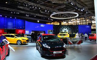Corespondență de la Paris 2014: Ford pregătește pentru 2015 cea mai tânără gamă de modele de pe piață