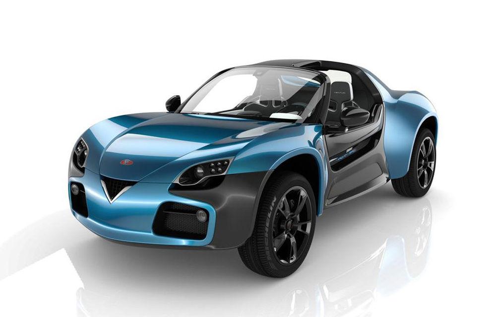 Venturi America este un crossover cu două locuri și motor electric de 400 CP - Poza 5
