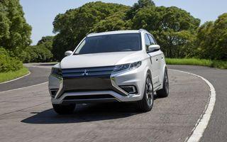 Mitsubishi va oferi doi hibrizi plug-in noi în gama sa europeană