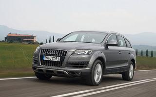 Noul Audi Q7 va fi lansat în luna ianuarie a anului viitor