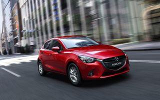 Mazda2 - primele imagini şi informaţii oficiale ale versiunii europene a subcompactei