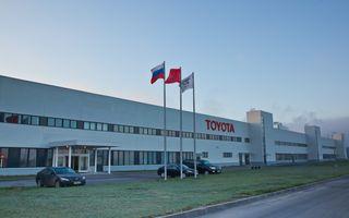Toyota a produs nouă milioane de vehicule în Europa