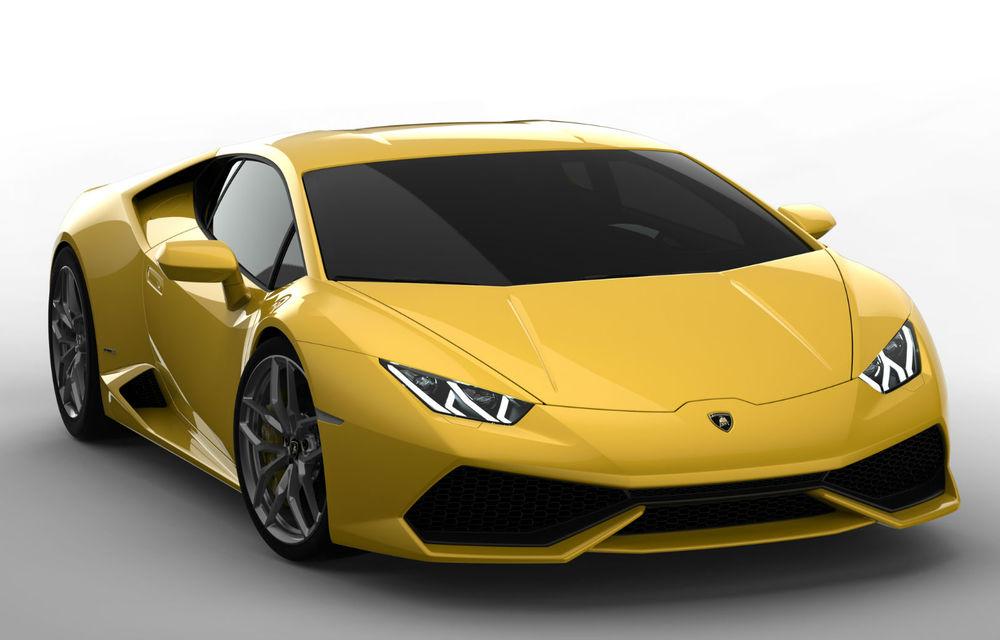 Lamborghini a vândut 3.000 de unităţi Huracan în zece luni - Poza 1