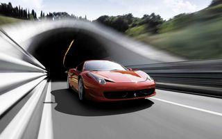 Ferrari 458 primeşte în primăvară un facelift echipat cu un motor V8 twin-turbo