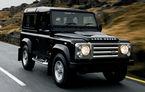 Land Rover Defender va primi o versiune de performanţă SVR în loc de adio