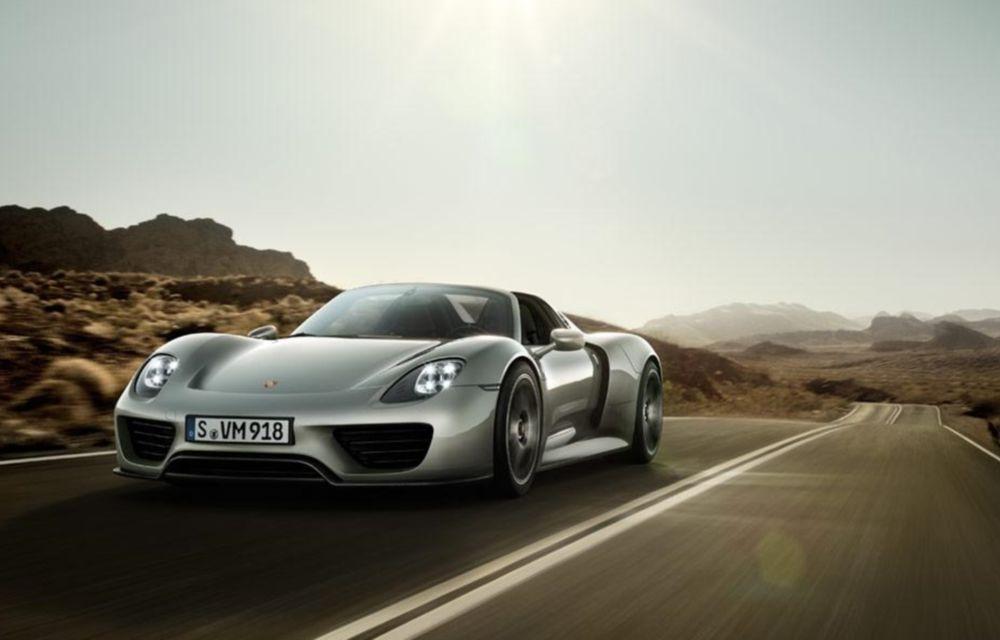 """Porsche: """"Aproape toate exemplarele 918 Spyder au fost vândute"""" - Poza 1"""