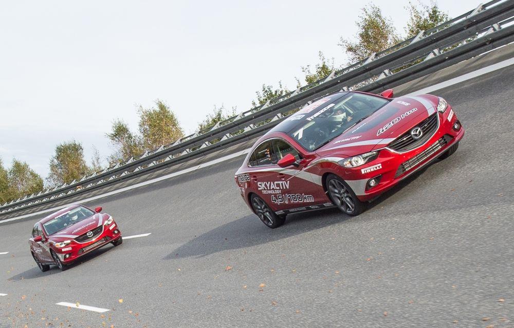Mazda6 2.2 diesel a realizat un record pe un circuit din Germania: 221 km/h viteză medie pe 24 de ore - Poza 1