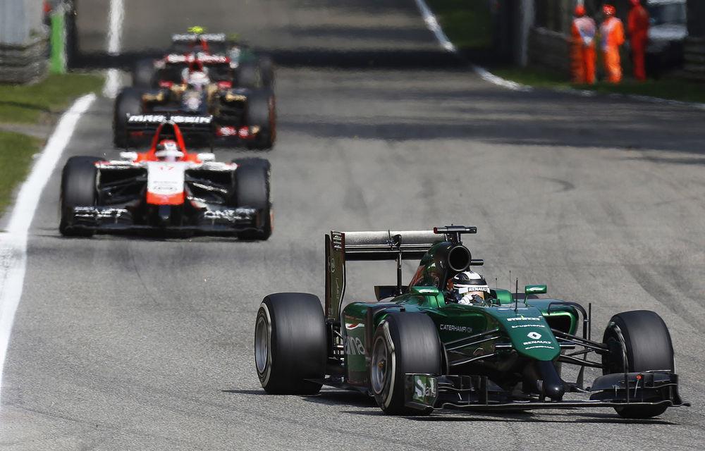 Caterham şi Marussia nu vor concura în Statele Unite şi Brazilia - Poza 1