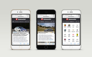 Automarket are o nouă versiune de mobil, disponibilă pe telefoane şi tablete
