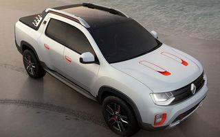 Renault Duster Oroch: conceptul unui pick-up sud-american, bazat pe SUV-ul de la Mioveni