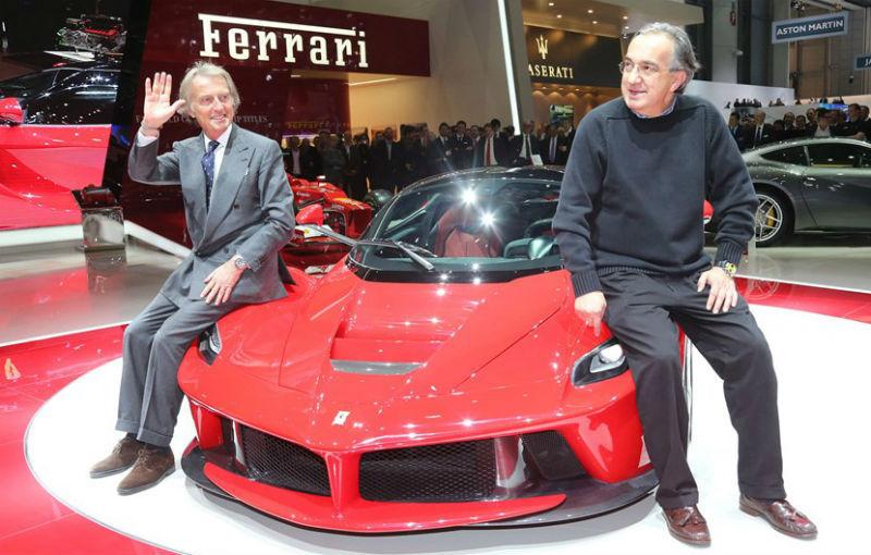 Sergio Marchionne demarează planul său de monetizare: Ferrari va fi listat la bursă în 2015 - Poza 1