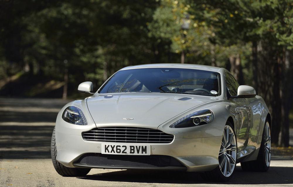 Aston Martin poate comercializa modelele DB9 și Vantage în SUA după ce a primit o scutire temporară pentru noile reguli de siguranță - Poza 1
