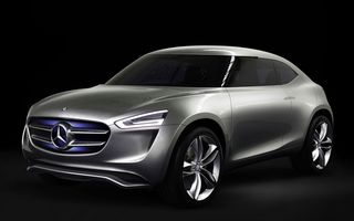 Mercedes-Benz G Code Concept, studiul de design care prefigurează un potenţial crossover de segment B