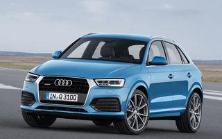 Audi Q3 facelift: consum redus cu până la 17% şi un design nou pentru SUV-ul din Ingolstadt