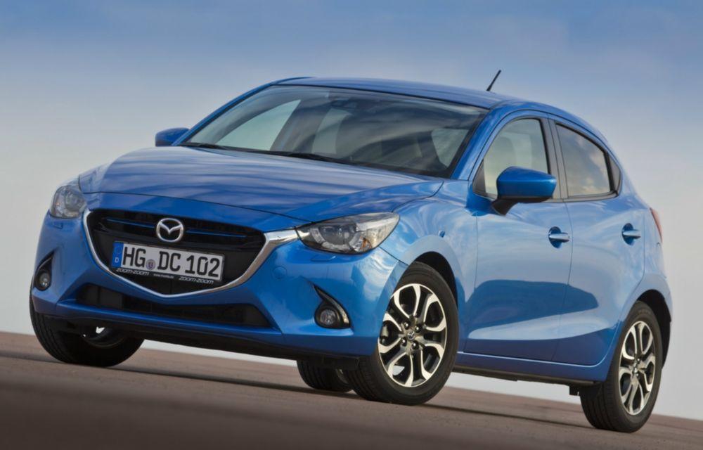Mazda2 are un preţ de pornire de 11.000 euro cu TVA inclus pe piaţa din România - Poza 1