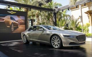 Aston Martin Lagonda Taraf: sedanul cu care brandul britanic renaşte oficial în Orient