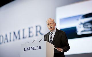 """Şeful Daimler: """"Nu vrem să preluăm conducerea Aston Martin"""""""