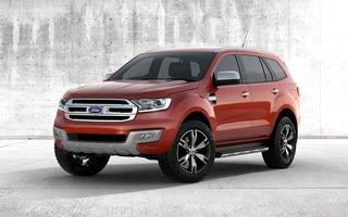 Ford Everest este un SUV bazat pe modelul Ranger ce va fi vândut pe piețele din Asia