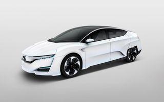 Honda FCV Concept: 700 de kilometri autonomie maximă şi versiune de serie lansată în 2016