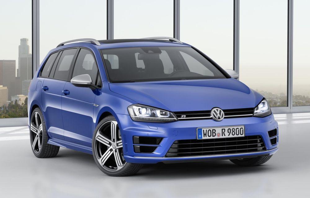 Volkswagen Golf R Variant devine cel mai puternic break compact din lume: motor 2.0 TSI de 300 CP - Poza 1