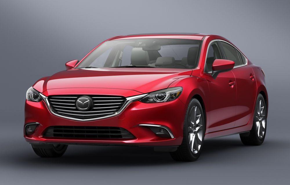 Mazda6 facelift: modelul nipon primeşte un retuş discret la doi ani de la debut - Poza 1