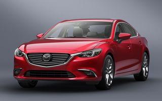 Mazda6 facelift: modelul nipon primeşte un retuş discret la doi ani de la debut