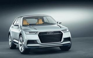 Audi Q8, o variantă mai sportivă a viitorului Q7, confirmat pentru producţie