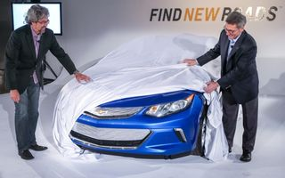 Chevrolet Volt se pregăteşte să primească o nouă generaţie - un nou teaser dezvăluie partea frontală