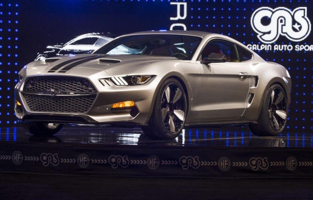 După decesul Fisker, fondatorul mărcii se reprofilează cu un Ford Mustang unicat, de 725 cai putere - Poza 3