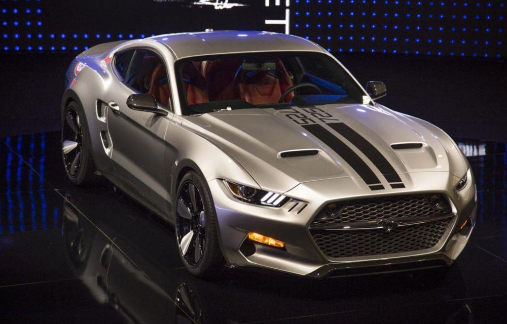 După decesul Fisker, fondatorul mărcii se reprofilează cu un Ford Mustang unicat, de 725 cai putere - Poza 2