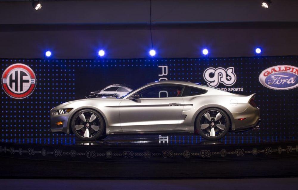 După decesul Fisker, fondatorul mărcii se reprofilează cu un Ford Mustang unicat, de 725 cai putere - Poza 8