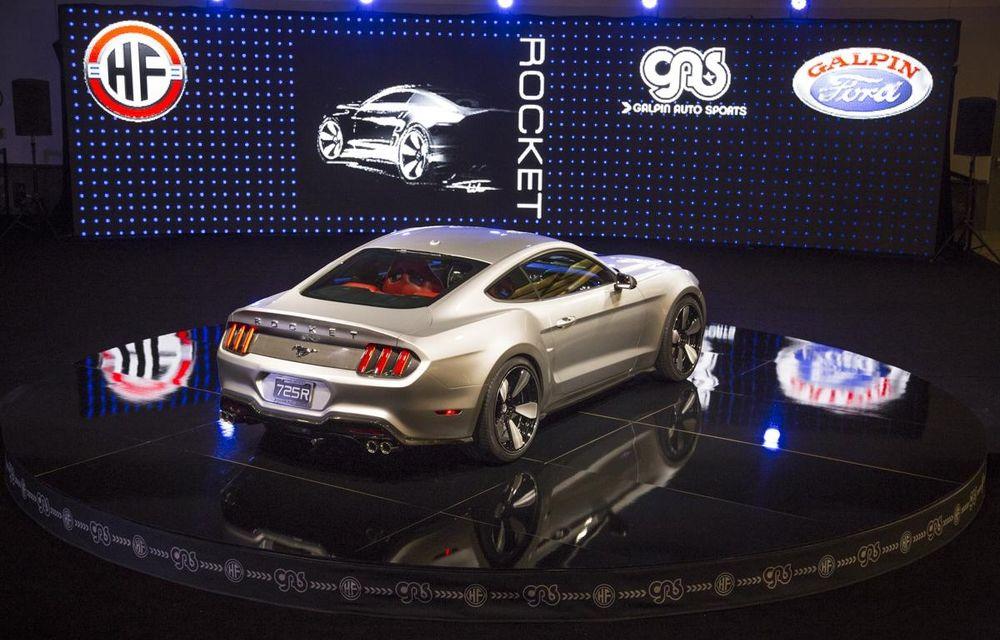 După decesul Fisker, fondatorul mărcii se reprofilează cu un Ford Mustang unicat, de 725 cai putere - Poza 17