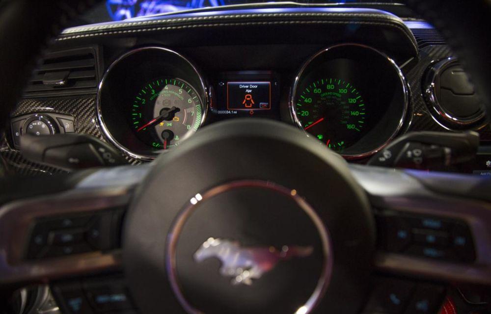 După decesul Fisker, fondatorul mărcii se reprofilează cu un Ford Mustang unicat, de 725 cai putere - Poza 24