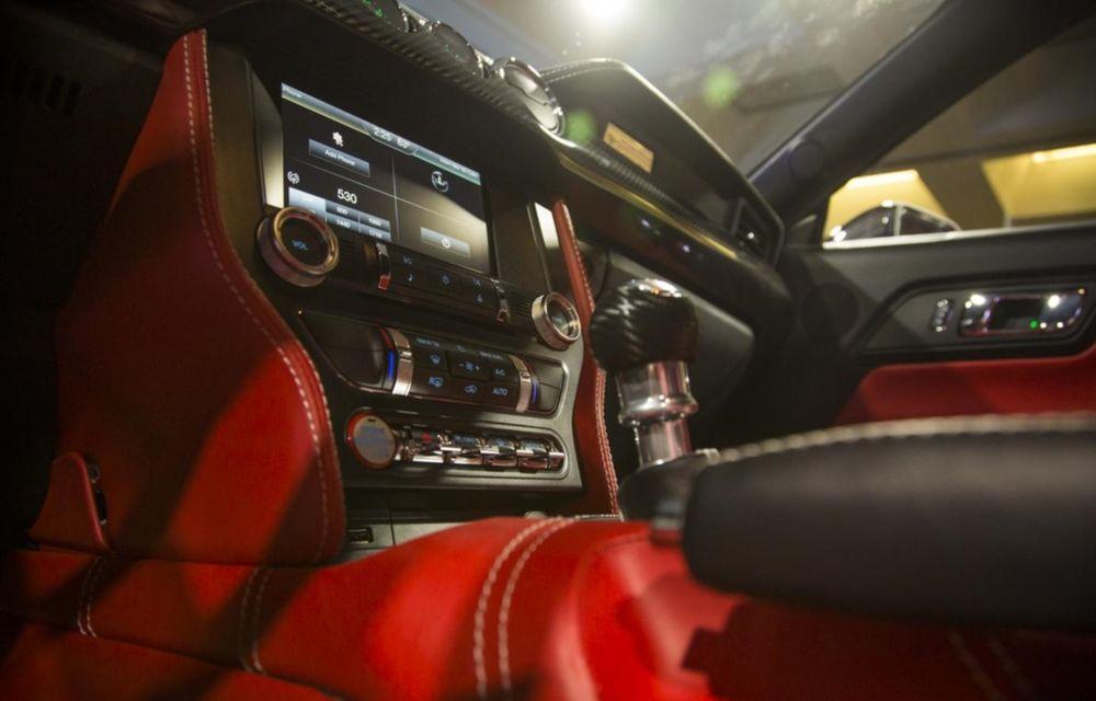 După decesul Fisker, fondatorul mărcii se reprofilează cu un Ford Mustang unicat, de 725 cai putere - Poza 20