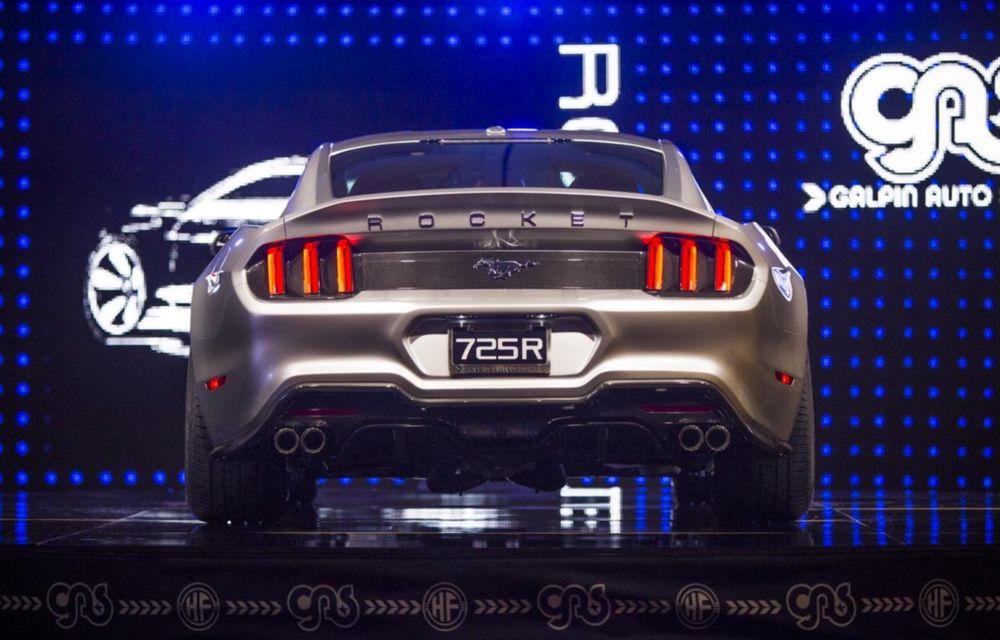 După decesul Fisker, fondatorul mărcii se reprofilează cu un Ford Mustang unicat, de 725 cai putere - Poza 6