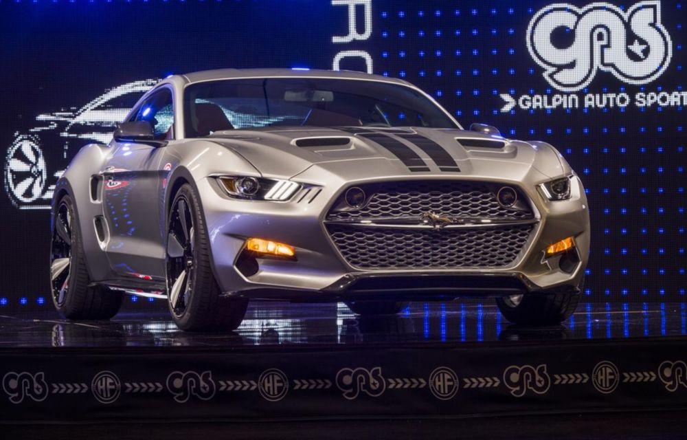 După decesul Fisker, fondatorul mărcii se reprofilează cu un Ford Mustang unicat, de 725 cai putere - Poza 9