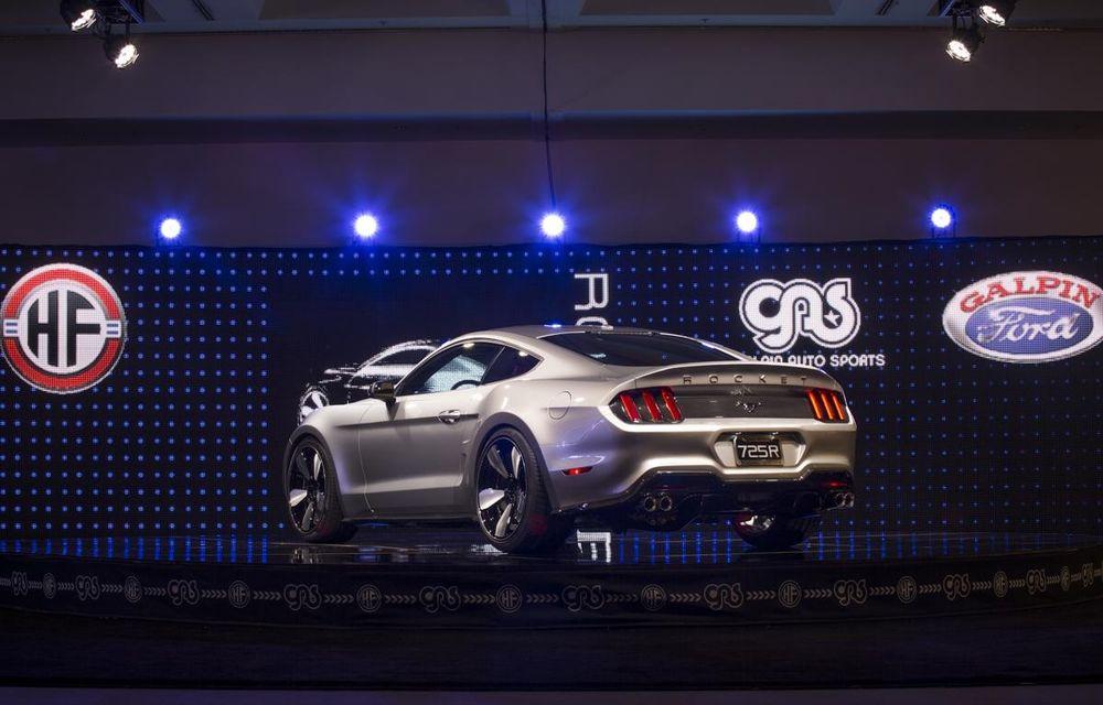 După decesul Fisker, fondatorul mărcii se reprofilează cu un Ford Mustang unicat, de 725 cai putere - Poza 18